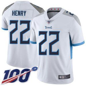 Mens Tennessee Titans Derrick Henry 100th Jerseys